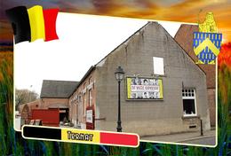 Postcard, REPRODUCTION, Municipalities Of Belgium, Ternat, Flemish Region 14 - Maps