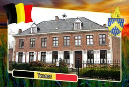 Postcard, REPRODUCTION, Municipalities Of Belgium, Ternat, Flemish Region 16 - Maps