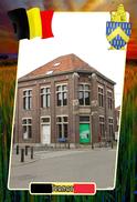 Postcard, REPRODUCTION, Municipalities Of Belgium, Ternat, Flemish Region 17 - Maps