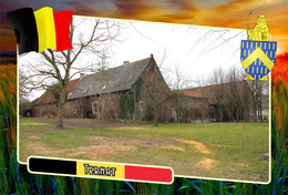 Postcard, REPRODUCTION, Municipalities Of Belgium, Ternat, Flemish Region 18 - Maps