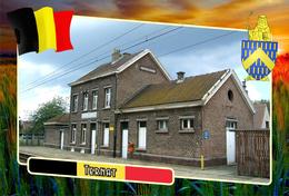 Postcard, REPRODUCTION, Municipalities Of Belgium, Ternat, Flemish Region 21 - Maps