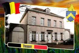 Postcard, REPRODUCTION, Municipalities Of Belgium, Ternat, Flemish Region 22 - Maps