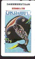 Télécarte Japon * REQUIN * HAIFISCH * SHARK * HAAI * VIS (217) BALEINE * WHALE * Phonecard Japan * FISH * TELEFONKARTE - Fish
