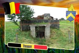 Postcard, REPRODUCTION, Municipalities Of Belgium, Ternat, Flemish Region 25 - Maps