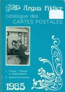 ARGUS FILDIER 1985 Très Bon état AVEC SPECIAL NORMANDIE - Livres