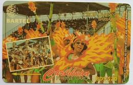 Barbados Phonecard B$20 Crop Over 92CBDA - Barbados