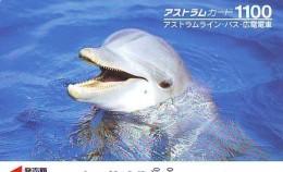 Télécarte Japon * DAUPHIN * DOLPHIN (947)  Japan () Phonecard * DELPHIN * GOLFINO * DOLFIJN * - Dolfijnen