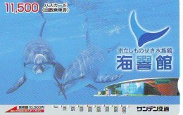 Télécarte Japon * DAUPHIN * DOLPHIN (949)  Japan () Phonecard * DELPHIN * GOLFINO * DOLFIJN * - Dolphins