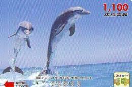 Télécarte Japon * DAUPHIN * DOLPHIN (950)  Japan () Phonecard * DELPHIN * GOLFINO * DOLFIJN * - Dolfijnen