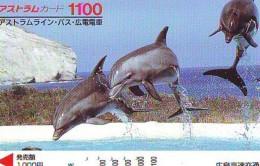 Télécarte Japon * DAUPHIN * DOLPHIN (952)  Japan () Phonecard * DELPHIN * GOLFINO * DOLFIJN * - Dolfijnen