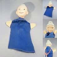 *MARIONNETTE DES ANNEES 60 'S - Jouet Caricature Tête - Marionette