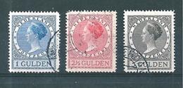 Pays Bas Timbres De 1924/27  N°152 A 153 (3 Timbres)  Oblitérés - 1891-1948 (Wilhelmine)