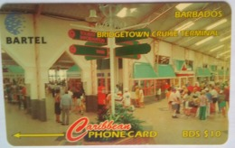Barbados Phonecard B$10 Cruise Terminal 92CBDC - Barbados