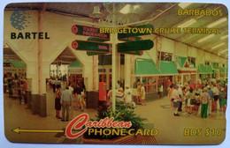 Barbados Phonecard B$10 Cruise Terminal 250CBDA - Barbados
