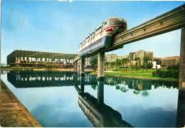 MONOROTAIA ALWEG  TORINO   Expo Italia '61 - Treni