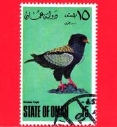 OMAN - State Of Oman - Nuovo Obliterato  - 1967-1984 - Uccelli - Oiseaux - Birds - Aquila - 15 - Oman