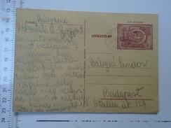D150075 Hungary Postal Stationery - Kékesteto - Ca 1950