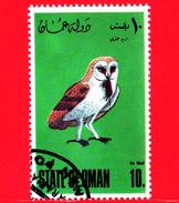 OMAN - State Of Oman - Nuovo Obliterato - 1967-1984 - Uccelli - Oiseaux - Birds - 10 - Oman