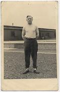 Jean Robin Prisonnier De Guerre  - Carte Photo Du STALAG VI/A  GEPRUFT 95 - Weltkrieg 1939-45
