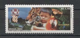 Brasil Animals Animaux Tiere Birds Parrots 2002 Mi#3262 MNH