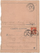 Oblitération De GRAY (haute Saône) 1916 Sur Carte Lettre Pour Chaumont Sur Tharonne - Marcophilie (Lettres)