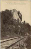 (54) 009, Blamont, CLB, Ruines Du Château Et La Voie Ferrée DÂ'Avricourt Blamont Cirey - Blamont