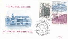 Belgium FDC 1975 Patrimoine Architectural (T17-26)
