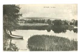 16467        Cpa  REVILLE  : La Saire  !  1922 ? - France