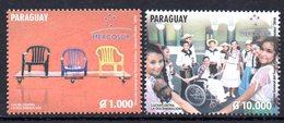Paraguay 3182/83 Mercosur , Handicap