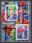 France 5116 5117 2017  F Tableaux De Chagall  Neuf TB ** MNH Sin Charnela Prix De La Poste 3.4 - Arte