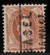 Schweiz, SBK Nr. 92 C, Fr. 400.-  , #8256
