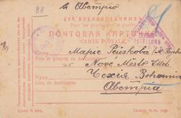 Russie Carte Prisonniers De Guerre 1916 Scan R/V.