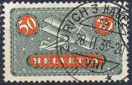 Stamp SWITZERLAND  Used Lot#62 - Posta Aerea