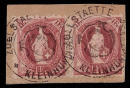 Schweiz, SBK Nr, 71 B, Paar, Seltener Zoll-Stp.  , #8257
