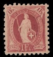 Schweiz, SBK Nr, 71 B, Ungebraucht  , #8258