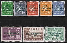 1941 Finland, Itä-Karjala (East Carelia) 8 - 15 **.