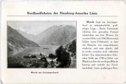 NORGE  NORWAY  MEROK Am GEIRANGERFJORD  Nordlandfahrten Der Hamburg-Amerika Linie - Norvegia