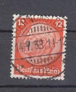 """Deutsches Reich 12 Pf Hindenburg Medaillon 1932 - """"Berncastel"""" Ideal Zentrisch Gestempelt"""