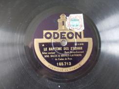 78T - Chez Le Docteur Et Le Baptème Des Z'oziaux Par Bach Et Henry Laverne - 78 T - Disques Pour Gramophone