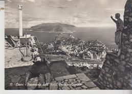 Capri Napoli Panorama Dall'hotel Cesare Augusto No Vg  Gg - Napoli