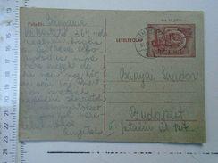 D150083  Hungary Postal Stationery -Kékesteto 1955