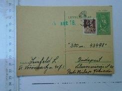 D150085  Hungary Postal Stationery  -1943 - Seinfeld Lajos