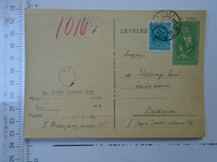 D150086  Hungary Postal Stationery  -1941 Budapest-Dr. Egri Bonis Pal