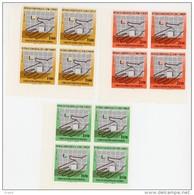 Sao Tome 1975-Mains,reconstruction Nationale-MI 427/9***MNH En Bloc De 4