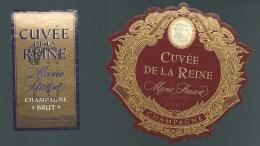 Etiquette   Champagne Brut   Marie Stuart  Cuvée De La Reine - Champagne