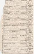 17708# EGYPTE 9 BORDEREAUX D' OBJET RECOMMANDE REGISTERED ARTICLE CAIRO RD9 LE CAIRE EGYPT AVIS DE RECEPTION - Égypte