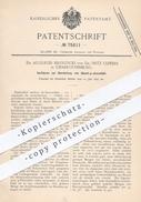 Original Patent - Dr. A. Bistrzycki , Dr. Fritz Ulffers , Berlin / Charlottenburg , 1893 ,  Diacet-p-phenetidid | Chemie - Historische Dokumente