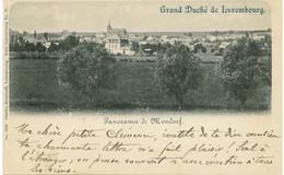 MONDORF-LES-BAINS  Panorama 1899 Série Luxembourg N°71 - Mondorf-les-Bains