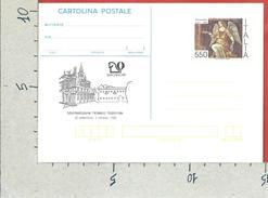 ITALIA REPUBBLICA CARTOLINA POSTALE MNH - 1988 - Saronno 88 - £ 550 - CP214 - Ganzsachen