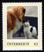 ÖSTERREICH 2012 ** Hund Und Katze - PM Personalized Stamps MNH - Gatos Domésticos